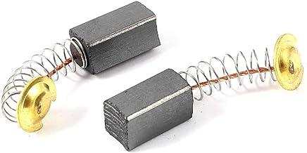 2 pieza DealMux motor escobillas de carb/ón para martillo el/éctrico 15,5 x 7,4 x 6,4 mm