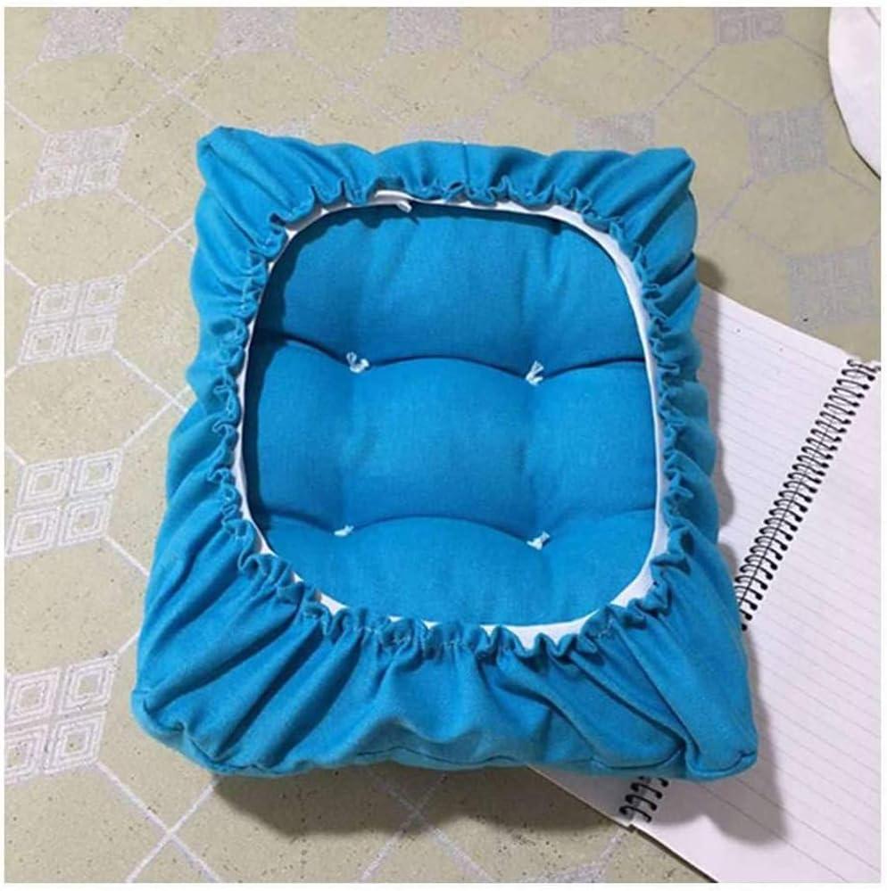 Bankpolster dickes Kissen rechteckige Stuhl-Sitzkissen Stretch-Sitzbezug BoruisX Rechteckiger Stuhlbezug Sitzbez/üge 25 x 35 cm, schwarz fixierbar niedrige Hocker