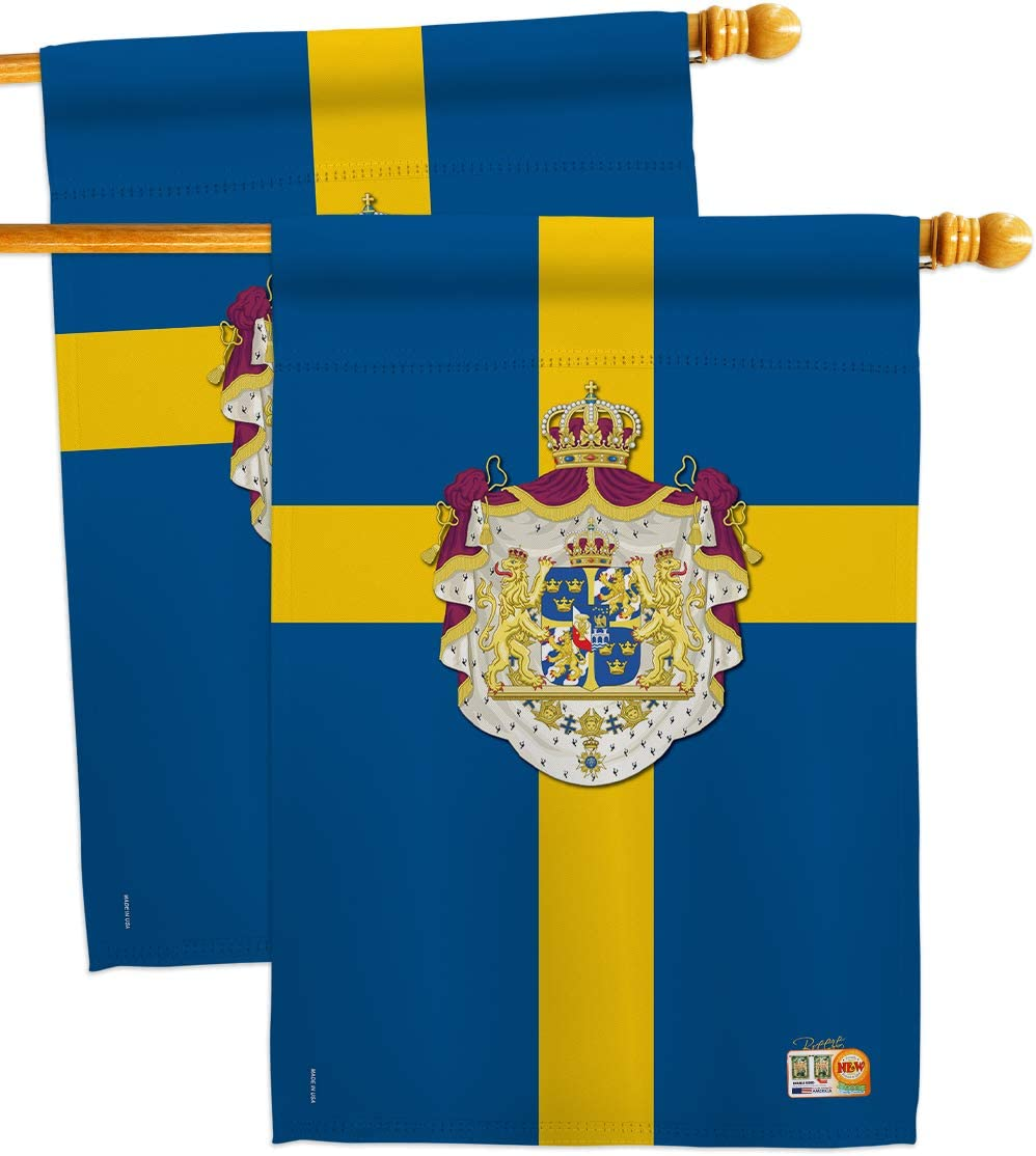 Nationality Sweden House Flags 2 Regional Nation Inexpensive Pack pcs Intern Choice
