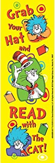 Dr SEUSS - Cat in the HAT 36 Bookmarks Reading Rewards Classroom TEACHER - PARTY Favors - Doctor Dentist MOTIVATIONAL - Thing 1 & 2