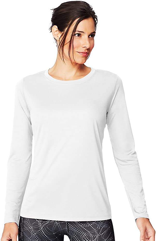 Hanes Sport Cool DRI Women's Performance Long-Sleeve T-Shirt
