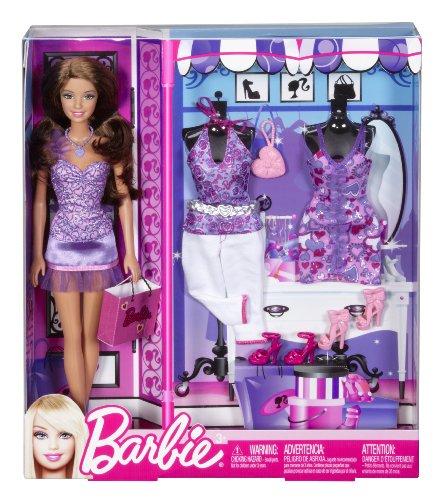 Barbie Poupée et Tendances Teresa Robe Violette Giftset