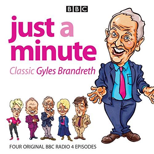 Just a Minute: Classic Gyles Brandreth cover art