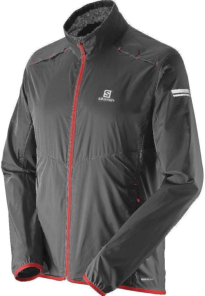 Salomon Men's Agile Jacket, Medium, Black