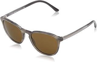 ebc8b6adaf Armani 0AR8104 561873 52 Gafas de sol, Gris (Striped Grey/Brown),