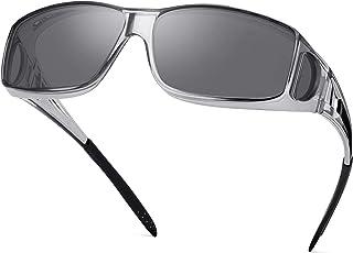 Polarized Sunglasses Fit Over Glasses for Men Women, Wrap...