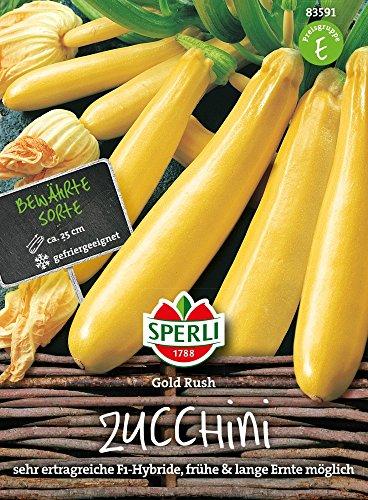Sperli Zucchini Gold Rush, F1-Hybride