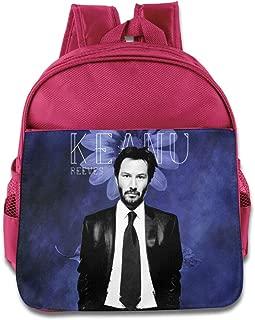 POOZ Keanu Reeves Kids Children School Backpack For Boys & Girls RoyalBlue