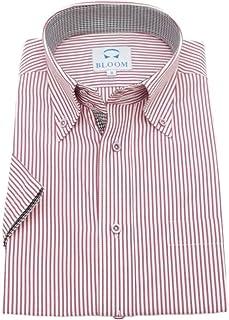 (ブルーム) BLOOM 2019夏 オリジナル 半袖 ワイシャツ クールビズ yシャツ S/M/L/LL/3L/4L/5L/6L 10柄 形態安定 ドゥエボットーニ ボタンダウン