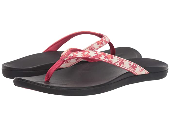 Ho'opio  Shoes (Passion Flower/Lehua) Women's Sandals