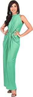 KOH KOH Womens Sleeveless Sexy Summer Vintage Tube Cocktail Gown