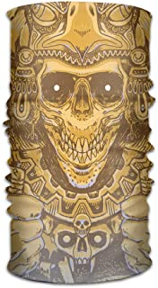HEHE TAN Unisex Beanie Aztec Warrior Multifunctional Bandanas Sweatband Elastic Turban Headwear Headscarf