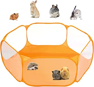Tenda per gabbia di animali di piccola taglia C & C, box per animali domestici trasparente Recinzione per esercizi di pop-...