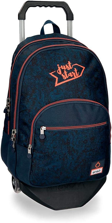 Enso Monsters School Backpack 44 Centimeters 20.13 bluee (blue)