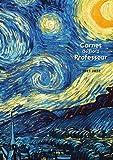 Carnet de Bord Professeur - Année scolaire 2021 2022: Couverture originale #10 - Grand Format A4 - Agenda Semainier (48 semaines datées, vue double ... (Agenda et Carnet de Bord pour Professeurs)