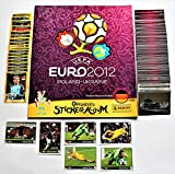 Panini Euro 2012 - Juego completo de pegatinas (540 pegatinas + 20 pegatinas D1 – D20 + 6 pegatinas Manuel Neuer Coca Cola + álbum en blanco)
