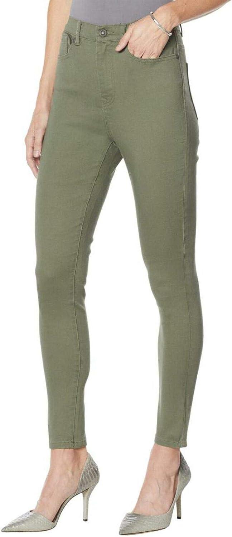 DG2 by Diane Gilman Women's Petite Stretch Ultra Skinny Jeans. 731608-Petite