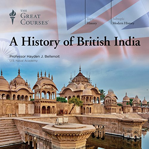 A History of British India audiobook cover art