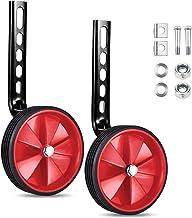 Niños Entrenamiento Ruedines,Universal Bicicleta Estabilizador Ruedas de Entrenamiento de Accesorio Bici Riding Equipment de 12-20 Pulgadas