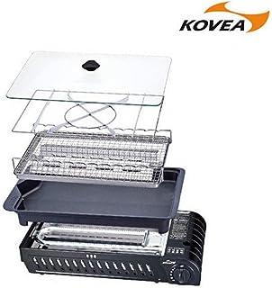 Kovea] 3 Way All in One Multi Gas Stove KGG-130 4DG Medium Camping Outdoor BBQ (Dark Gray)