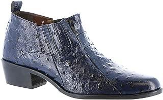 blue ostrich shoes
