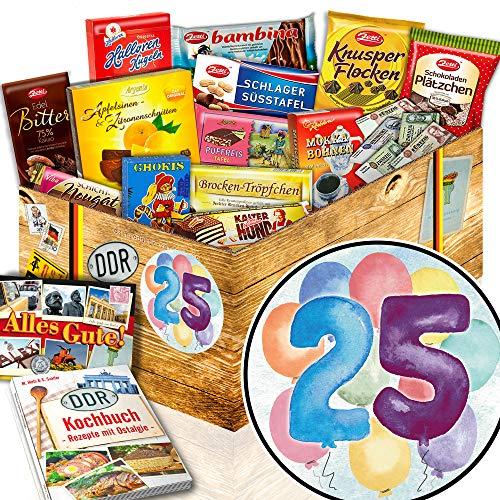 Geburtstagsgeschenk 25. / 25ter Geburtstag Geschenke / Schoko Ostpaket