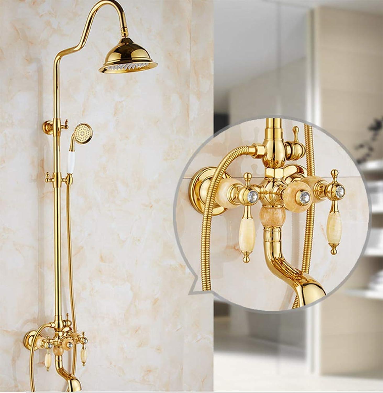 XLST Duschsystem mit Handbrause überkopfbrause Brausestange Duschset Duscharmatur