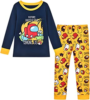Edu Niños You Looking Sus Bro Among Us Impostor Pijamas de Gamer