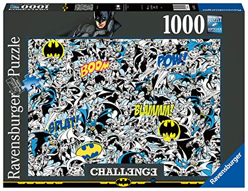Ravensburger 16513 Batman Challenge 1000 Piece Jigsaw Puzzle for Adults & for Kids Age 12 and Up