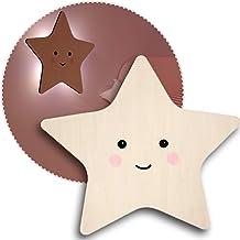 reer lumilu Silhouette Light Star, schattige sterrenwandlamp, geweldig doopgeschenk, verjaardagscadeau voor jongens en mei...