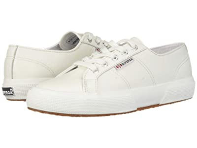 Superga 2750 Nappaleau Sneaker (White) Women