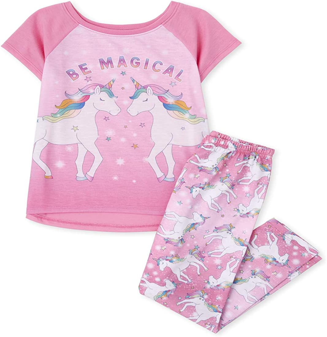 The Children's Place Girls' Two Piece Pajama Set