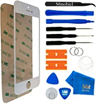 MMOBIEL Front Glass Replacement Compatible with iPhone 5 5S SE (White) Display Touchscreen incl Tool Kit