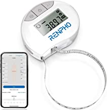 Renpho Smart Body Circumference Measure, Bluetooth Tape Measure for Measuring Body Sizes of Biceps, Chest, Hips, Calves, T...