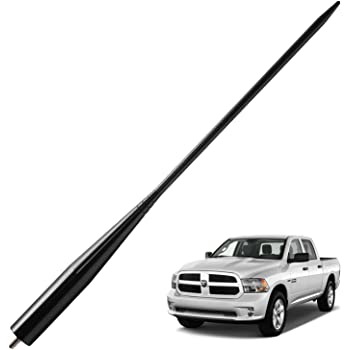 JAPower Replacement Antenna Compatible with GMC Sierra 1999-2006 3 inches-Red
