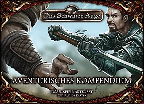 Spielkartenset Aventurisches Kompendium: DSA5 (Das Schwarze Auge - Zubehör)