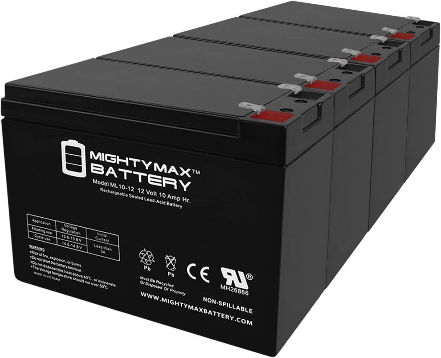 Mighty Max Battery ML10-12 - Albuquerque Mall 12V Outstanding Liebert S SB-6KV UpStation 10AH