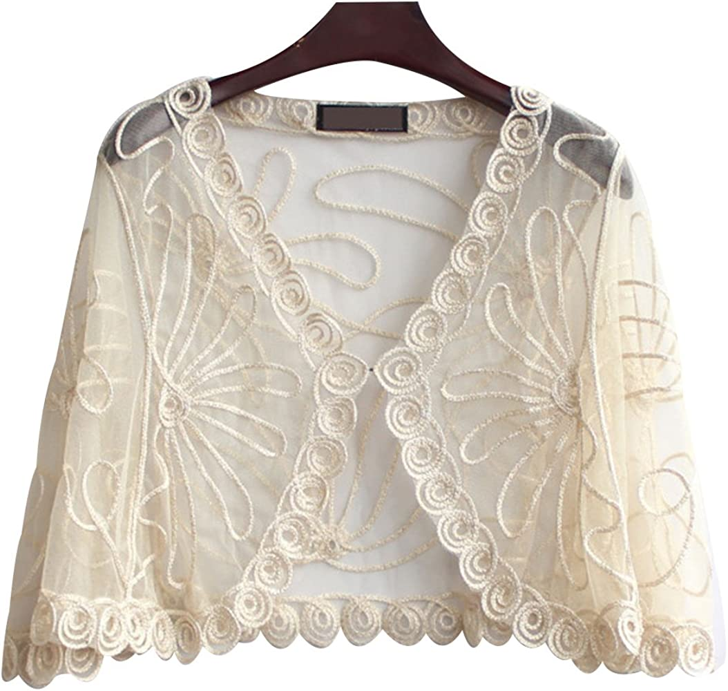specialty Milwaukee Mall shop Trendy XU Women Exquisite Patterns Sleeve Bat Cape Loose Sunscre