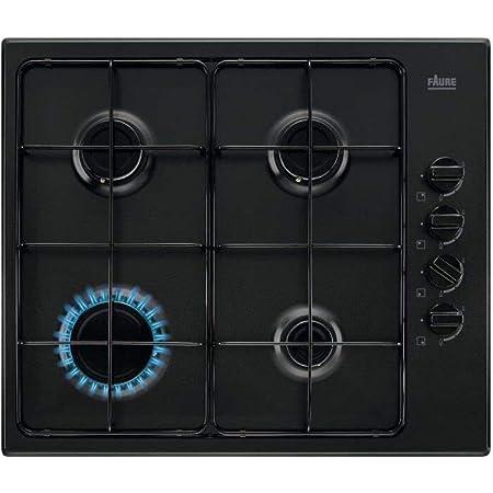 Plaque gaz Faure FGH62414BA - Plaque de cuisson 4 foyers
