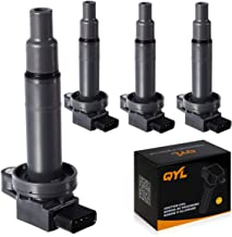 4Pcs Ignition Coil Pack Replacement for Scion XA XB Yaris Toyota Echo Prius Camry C1304 UF316 5C1293