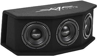 "$269 » Skar Audio SDR-3X8D2 Triple 8"" 2,100 Watt Loaded SDR Series Vented Subwoofer Enclosure, Triple 8"" D2 Loaded Enclosure"