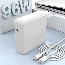 96W USB C Cargador Compatible con Mac Book Pro Charger 13 15 16 Pulgadas 2020 2019 2018 Funciona con USB C 87W 61W 30W Mac...
