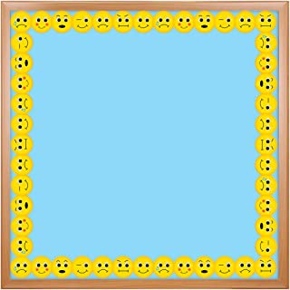 Hygloss Products Emotions Die-Cut Bulletin Board Border – Classroom Decoration – 3 x 36 Inch, 12 Pack