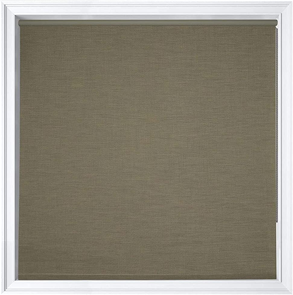 Luxr Blinds Custom-Made Max 89% OFF Modern Denim Blackout 100% 25% OFF Roller Window