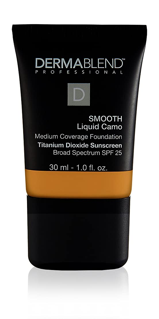 大学院クローン手錠ダーマブレンド Smooth Liquid Camo Foundation (Medium Coverage) - Honey 45W 30ml/1oz