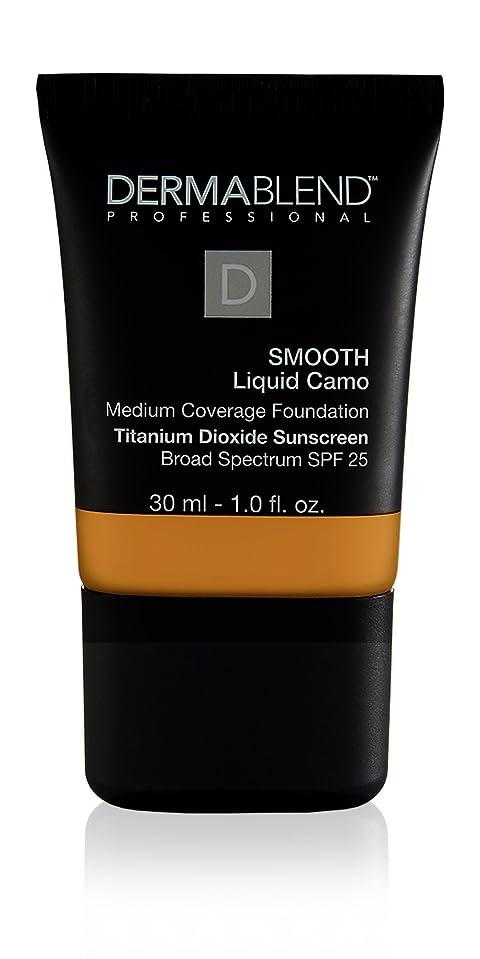 セメント挽く服を片付けるダーマブレンド Smooth Liquid Camo Foundation (Medium Coverage) - Honey 45W 30ml/1oz