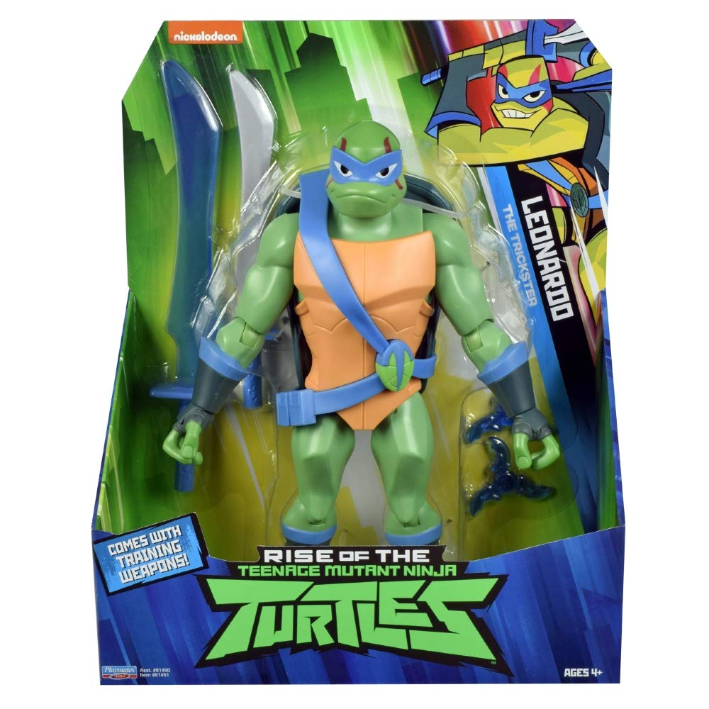 Action Figu... The Trickster Rise of the Teenage Mutant Ninja Turtles LEONARDO