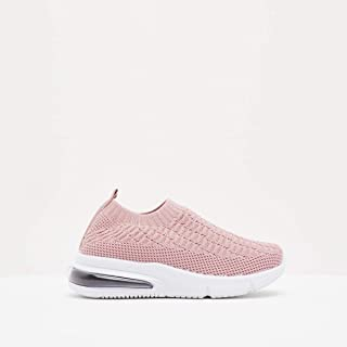 Shoexpress Textured Slip-On Low Ankle Sneakers