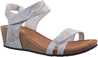 Silver Lining Kimberley Silver Sparkle Sandals