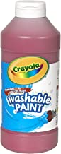 Crayola Washable Paint, Red Paint Craft Supplies, 16 ounce